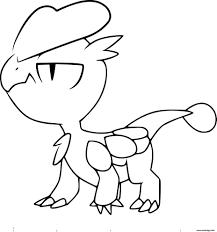 Coloriage Pokemon Xy Bebecaille Dessin Imprimer 1 Pinterest