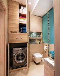 small bathroom laundry