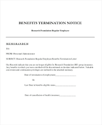 Employee Letter Of Termination Printable Termination Letter Template ...