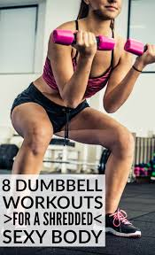 this collection of dumbbell exercises has everything you need for a full body workout