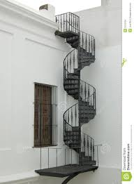 Colonial Spiral Staircase Stock Images - Image: 2104704