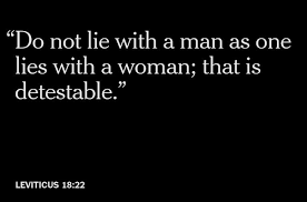 Bible quotes on gays