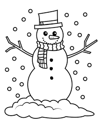 Small Picture Emejing Frosty Snowman Coloring Pages Gallery Coloring Page