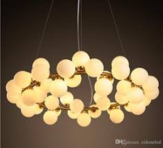 tom dixon style lighting. Plain Lighting 2016 New Arrivals Village Style LED Round Glass Pendant Lights 25 45 Heads  Loft Light Fixture Modo Led With Tom Dixon Style Lighting O