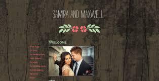 Free Wedding Website Templates Magnificent My Wedding Website Free Wedding Websites Bridal Banter Blog