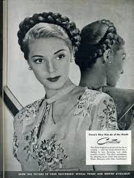 1930s Hair Style fashionable forties a braided updo wish the rest of the pics on 6626 by wearticles.com