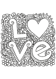 Coloring Pages Free Book Quote Quotes Adult Coloring Pages Love
