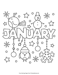 There are many interesting coloring pages which are based on the theme of january. Pin On Winter