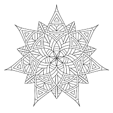 Printable Symmetry Coloring Pages 30255