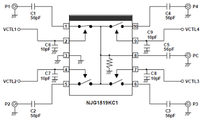 rf switches simplify multi antenna systems digikey sp4t switch from njr