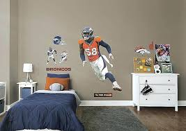 fathead wall art broncos wall art awesome life size miller fathead wall decal full wallpaper images