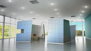 future office design. ordinary office cubes look outdated compared with those employing seeyondu0027s products which like something out of u201cthe jetsonsu201d u2014 futuristic spaces future design