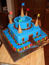Medieval Castle Cake Designs Castle Birthday Cake Blue Candy Castle Cake For Several