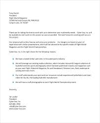 Proposal Letter Template Best 48 Business Proposal Letter Examples PDF DOC