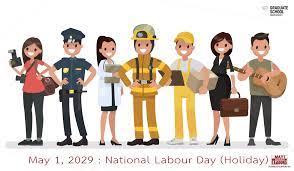 บัณฑิตวิทยาลัยปิดทำการวันแรงงานแห่งชาติ National Labour Day (Holiday)