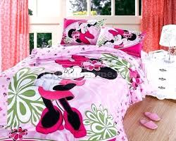 minnie mouse twin bedding comforter set toddler bed