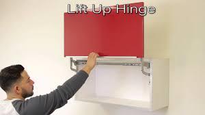 Lift Up Cabinet Door Lift Up Hinge Youtube