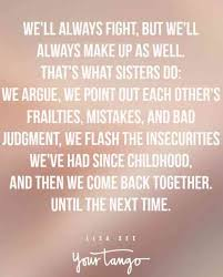 Sister Love Quotes Inspiration 48 Sister Quotes That PERFECTLY Sum Up Your Relationship YourTango