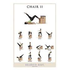 Malibu Pilates Chair Exercise Chart 16 Best Chair Exercises Images Chair Exercises Pilates