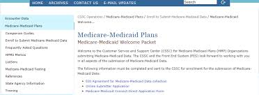 An Introduction To Medicare-Medicaid Plan Encounter Data Submission ...