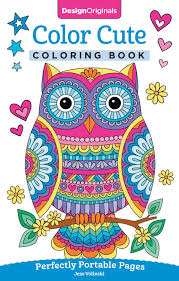This collection of kawaii printable coloring pages is sure to bring a smile to your little one's face. Amazon Com Color Cute Coloring Book Perfectly Portable Pages On The Go Coloring Book Design Originals Extra Thick High Quality Perforated Pages Convenient 5x8 Size Is Perfect To Take Along Wherever You Go 9781497202382 Jess Volinski Books