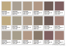 Paintcor Colour Chart Taupe Color What Color Is Taupe