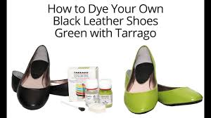 Tarrago Dye How To Dye Your Leather Shoes