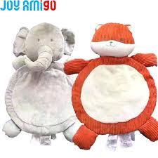 animal shape rug soft baby fox elephant floor mat plush toy playing blanket carpet corduroy shaped animal shape rug