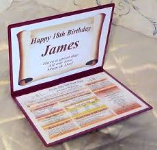 image is loading special 18th birthday personalised gift the day you