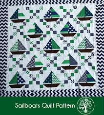 Sailboat Quilt Pattern Interesting Decoration