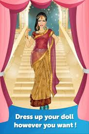 indian wedding makeover and dress up games