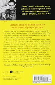 com fire sebastian junger books
