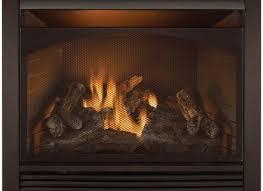 famed appalachian oak vented gas fireplace log gas logs