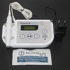 1 set electric digital tattoo machine permanent makeup machine for eyebrows lips body tattoo cosmetic kits