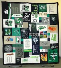 38 best The Best T-shirt Quilts of 2013 images on Pinterest | Cool ... & This is a fun graduation T-shirt quilt - the guy was not a three Adamdwight.com