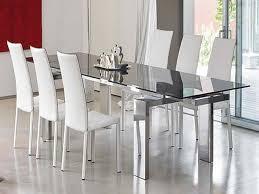 10 black glass dining room sets beautiful modern glass dining room sets images liltigertoo with black