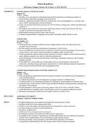 Resume For Computer Job Computer Resume Samples Velvet Jobs 85