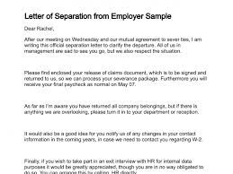 Letter Of Separation - Koto.npand.co