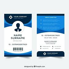 Photo Id Template Free Download Corporate Id Card Template Photo Blank Id Card Template Great Id