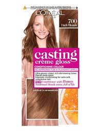 Semi Permanent Hair Dye Colour Chart