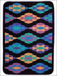 The Amish Medallion quilt combines bright colors with a black ... & Free Easy Quilting Pattern- Amish Medallion -Bright colors against a black  background really pop! This free quilting pattern, inspired by the Amish ... Adamdwight.com