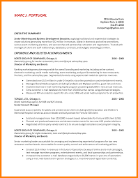 8 How To Write A Summary In A Resume Riobrazil Blog