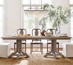 clarissa glass drop extra long rectangular chandelier pottery barn