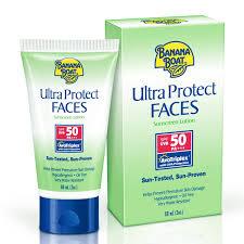 Ultra Protect Sunscreen Lotion Pa Face Banana Boat Spf50
