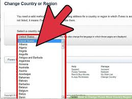 How To Change Itunes Store Country Region With Pictures