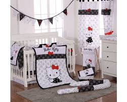 hello kitty black baby bedding crib bedding set