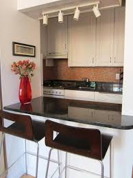 ... Kitchen, Kitchen Largesize Small Black And White Kitchen Bar Set In  Modern Style With Mini ...