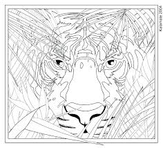 Kids Animal Coloring Pages Hard Animal Coloring Pages Adults Hard