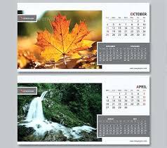 desk calendar template psd free