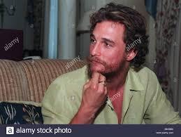 Matthew McConaughey attore americano star di film di un tempo per uccidere  basato sul romanzo di John Grisham Foto stock - Alamy
